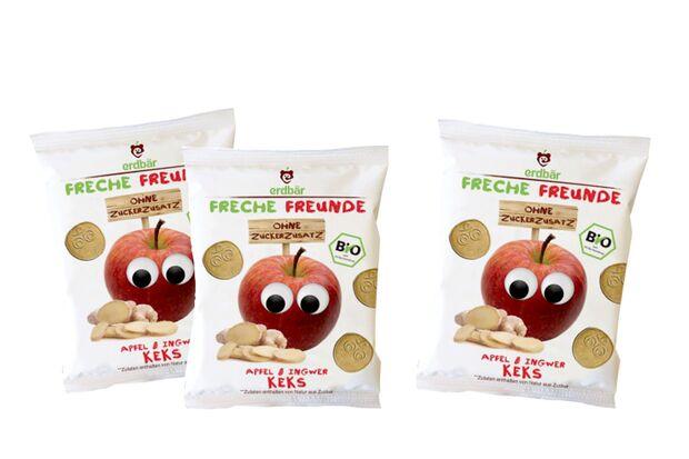 Freche Freunde Apfel-Ingwer-Kekse