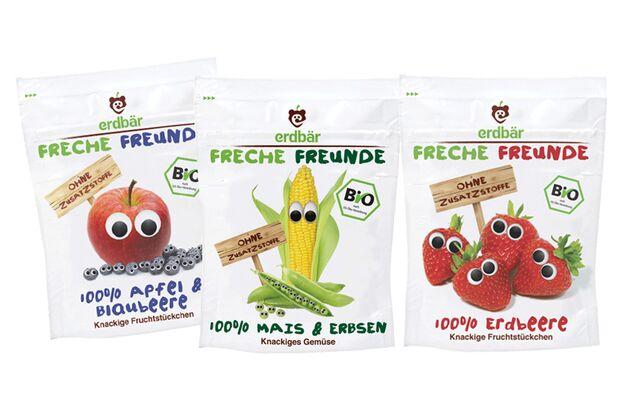 Freche Freunde Frucht- & Gemüsechips
