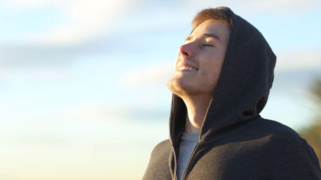 Freie Nasennebenhöhlen erleichtern das Atmen