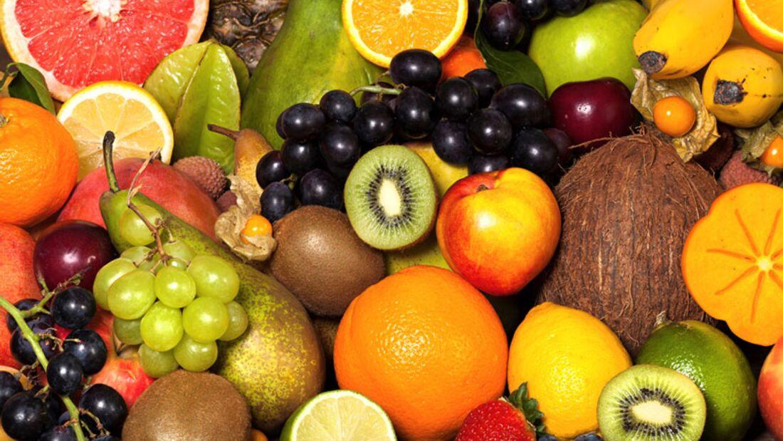Frisches Obst bietet eine vielzahl an Vitaminen