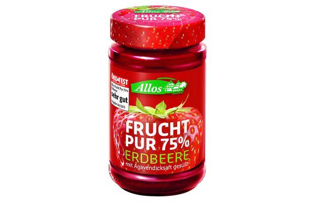 Frucht Pur Erdbeermarmelade