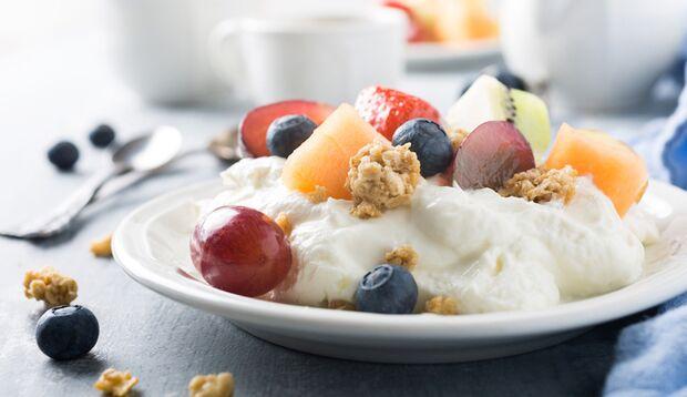 Frucht-Quark ist schnell gemacht, günstig und lecker