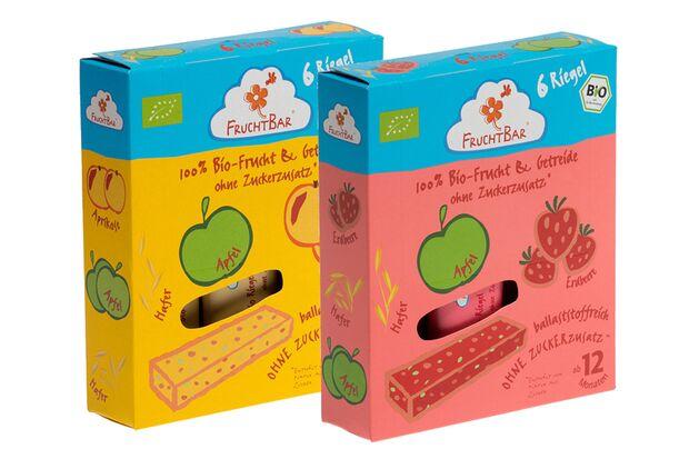 Fruchtbar Bio-Frucht- und Getreideriegel