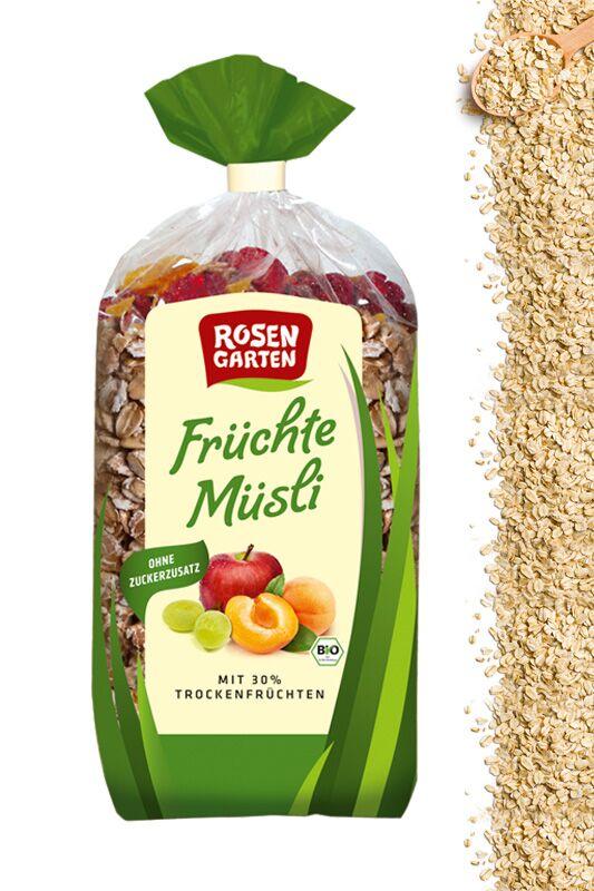 Früchte Müsli von Rosengarten