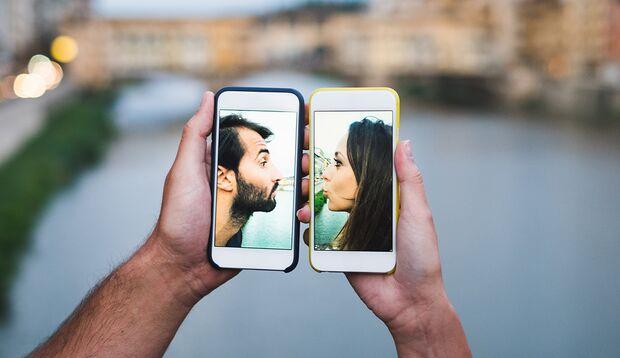Führen Sie Ihre Beziehung hauptsächlich online?