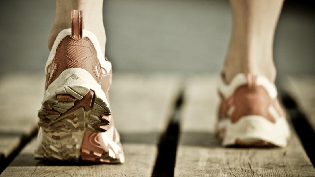 Fuß schläft beim Laufen ein?