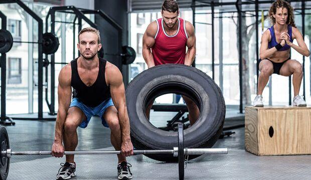 Ganzkörper-Workout mit Zirkeltraining