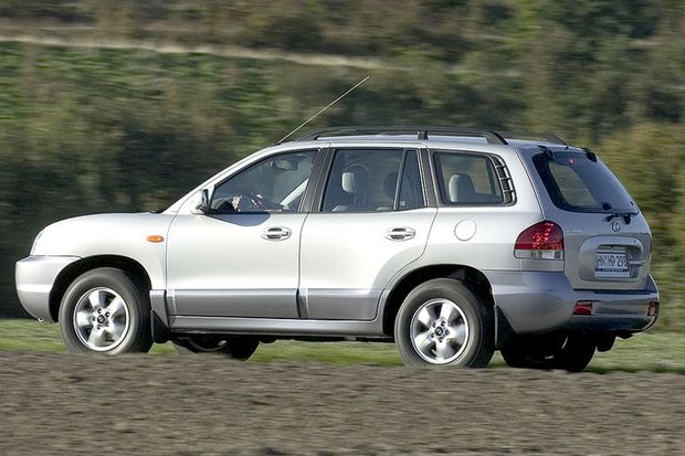 Gebrauchte Allradler: Hyundai Santa Fe