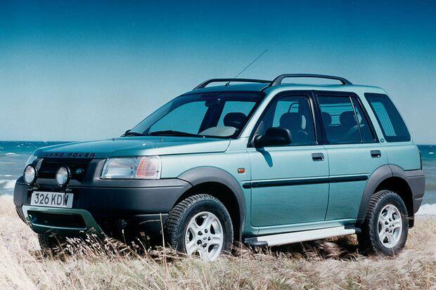 Gebrauchte Allradler: Land Rover Freelander