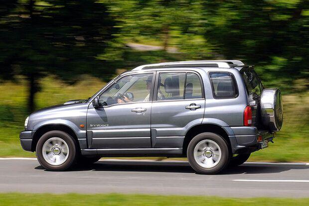 Gebrauchte Allradler: Suzuki Grand Vitara