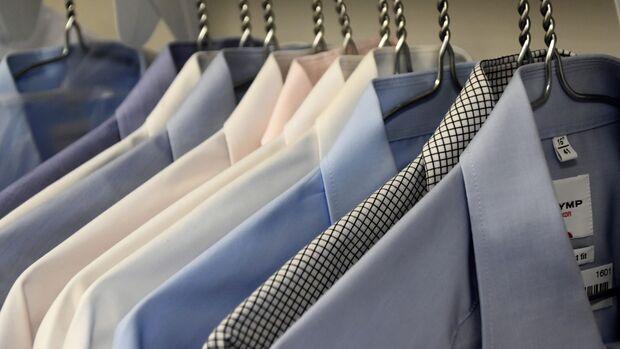 Gebügelte Hemden