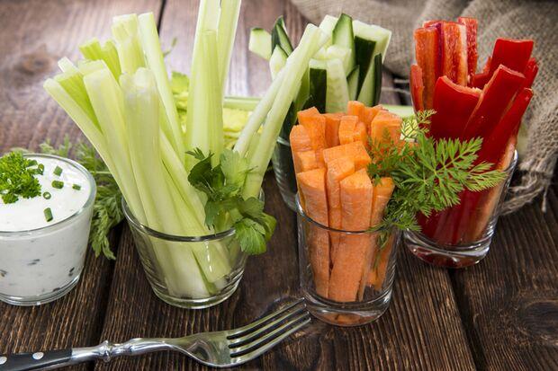Gemüse ist eine Top-Vitaminquelle