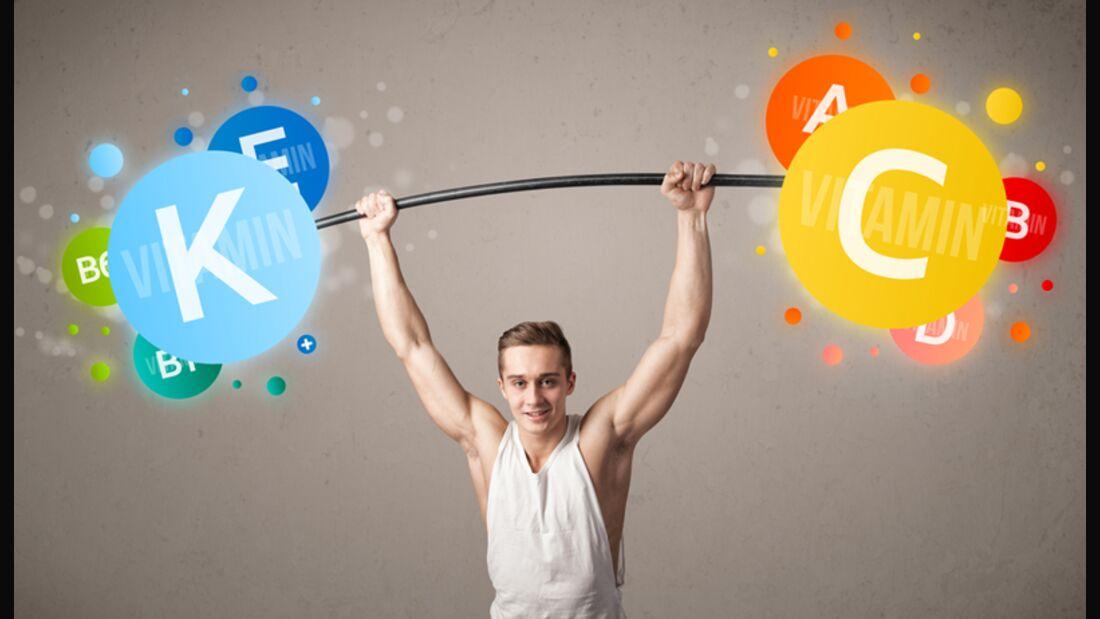 Gerade als Sportler brauchen Sie viele Vitamine, denn die geben Power und schützen die Gesundheit