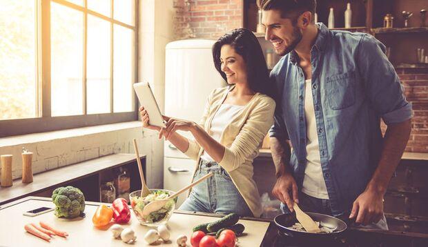 Gerichte mit viel Obst und Gemüse sträken Ihr Immunsystem