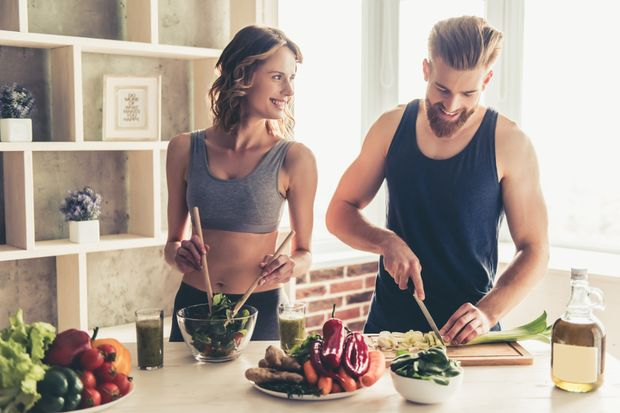 Gesunde Ernährung verbessert das Sperma