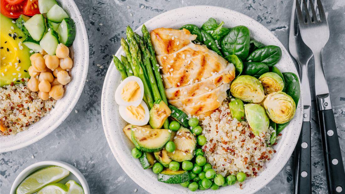 Gesunde Fitmacher-Rezepte mit Fleisch und Gemüse