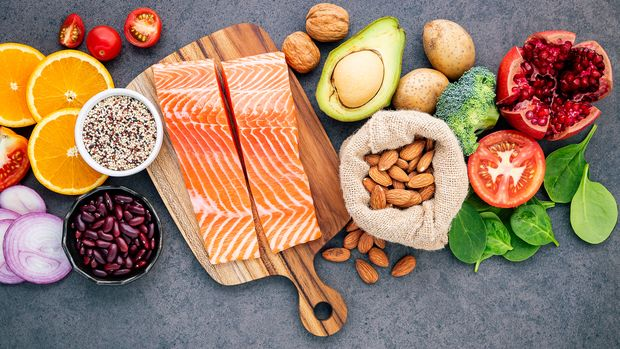 Gesunde Lebensmittel helfen beim Abnehmen