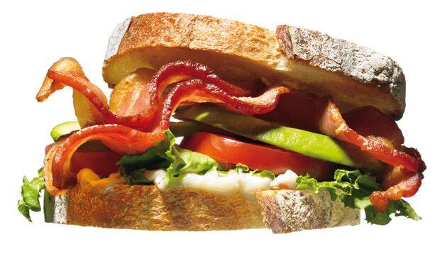 Gesunder Burger: Der Herz-Mayo-Toast