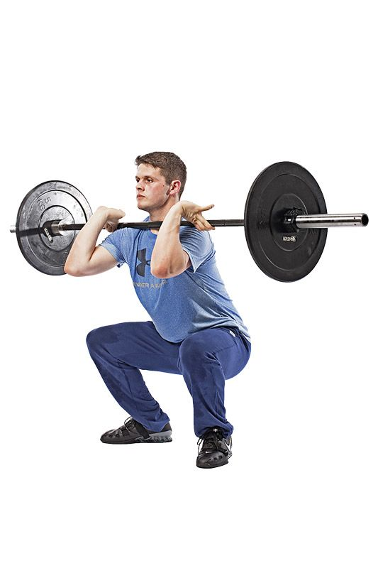 Gewichtheben – Klassische Variante: Umsetzen & Stoßen