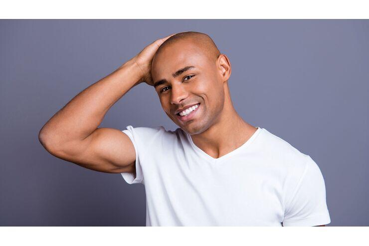 Wie oft rasieren glatze Glatze rasieren