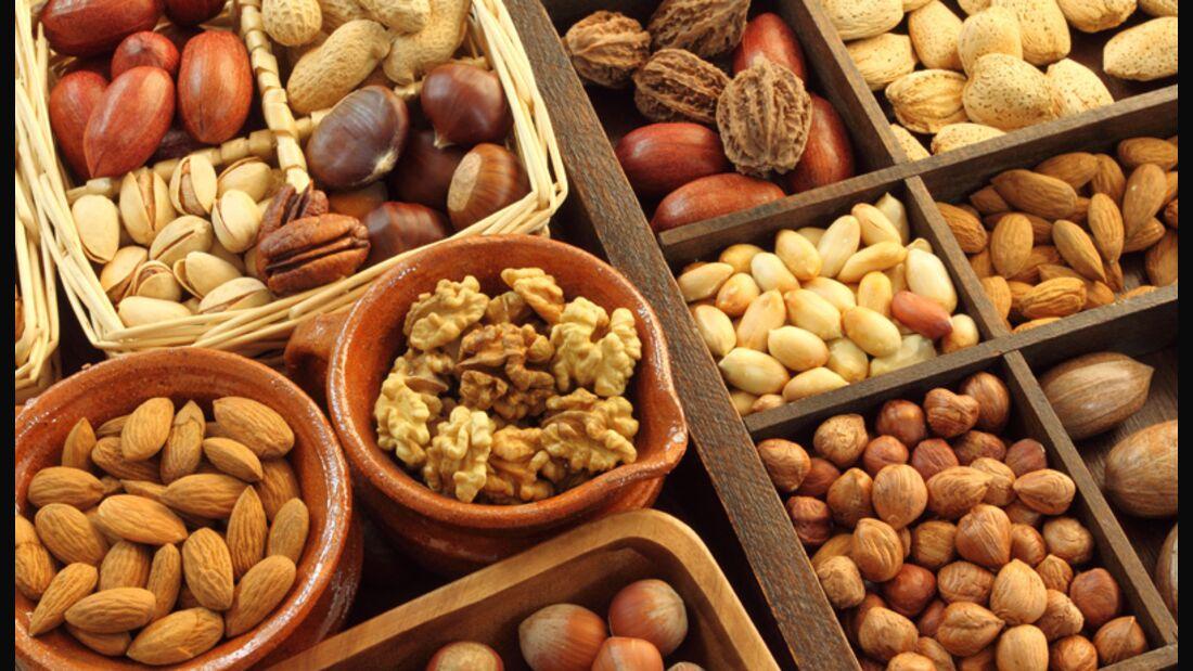 Glykämischer Index und glykämische Last von Nüssen