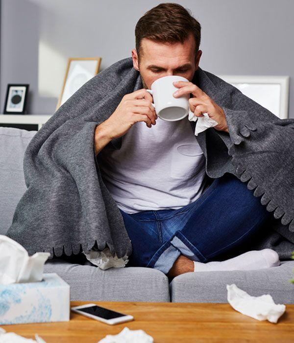 Gönnen Sie Ihrem Körper Ruhe, wenn Sie erkältet sind