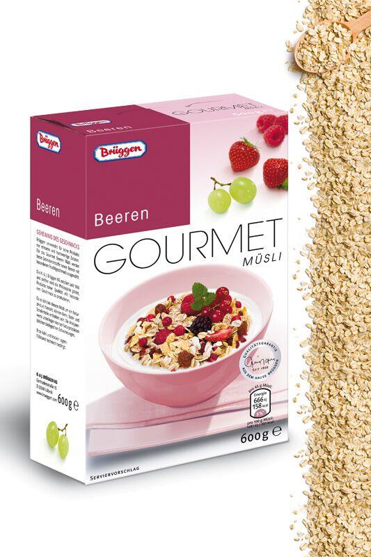 """Gourmet Müsli """"Beeren"""" von Brüggen"""