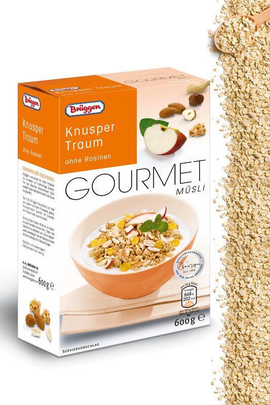 """Gourmet Müsli """"Knuspertraum"""" von Brüggen"""