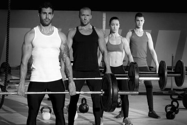 Gruppen-Workout