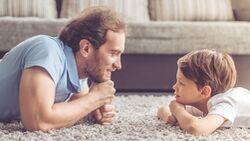 Habe nicht zu hohe Ansprüche an dich selbst, genieße die Zeit als Vater