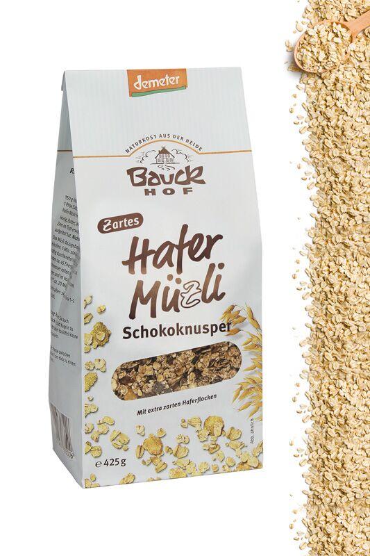 """Hafer-Müzli """"Schokoknusper"""" von Bauckhof"""