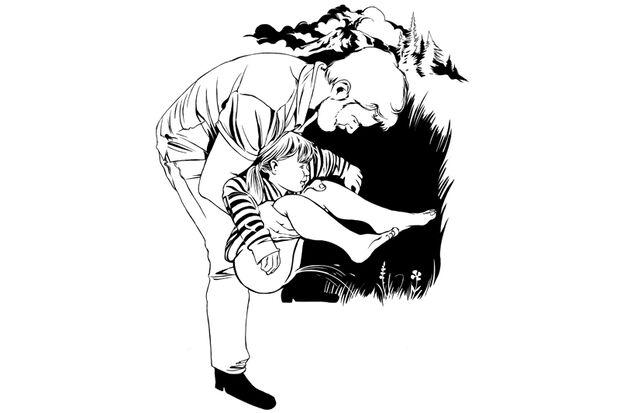 Handgriffe für Väter: Beim Pinkeln abhalten