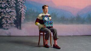 Happy Socks Macaulay Culkin Xmas