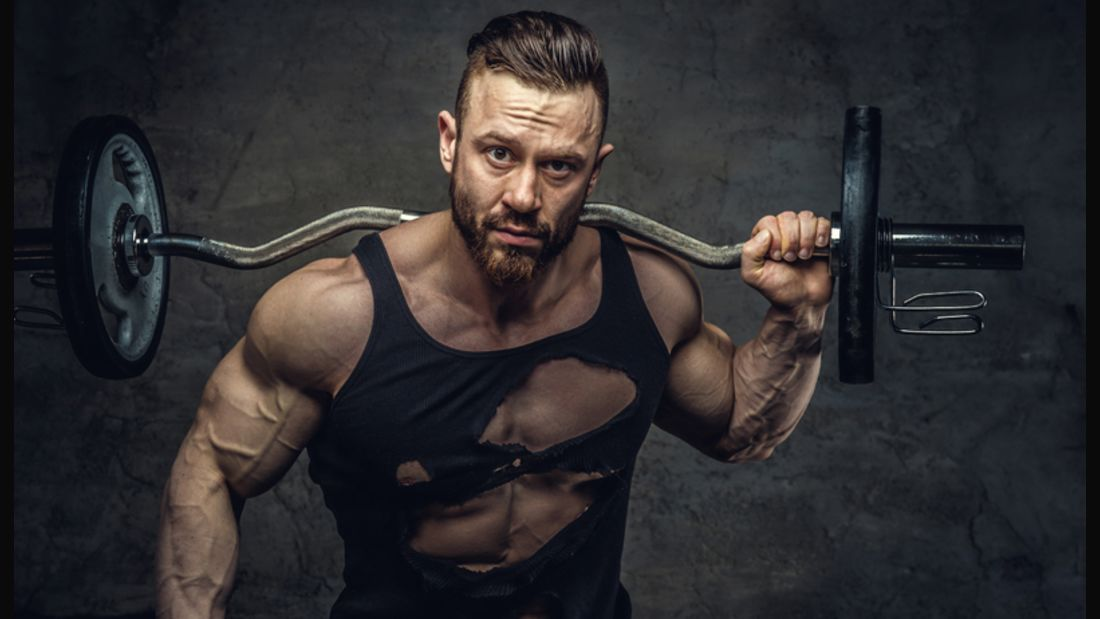 Hart wie die Hantel selbst: Einige Typen kann im Fitnessstudio nichts unterkriegen