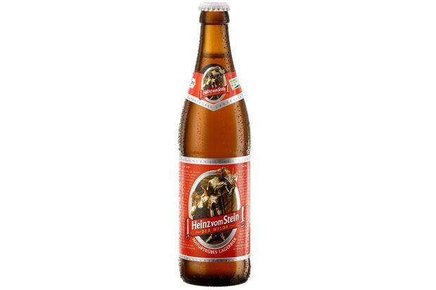Heinz vom Stein - Der Wilde : Naturtrübes Lagerbier