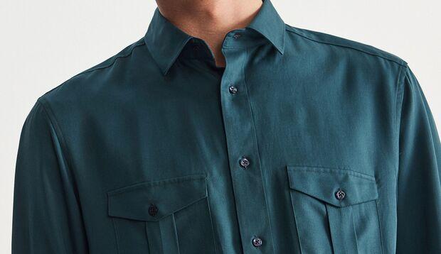 Hemd in grün