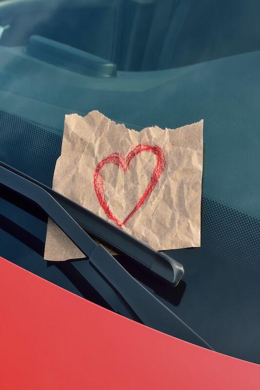 Herzliche Notizen haben auf Frauen einen großen Effekt