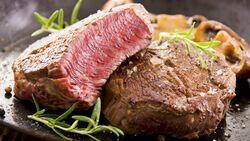Hier hat jemand sein Steak offensichtlich richtig gebraten