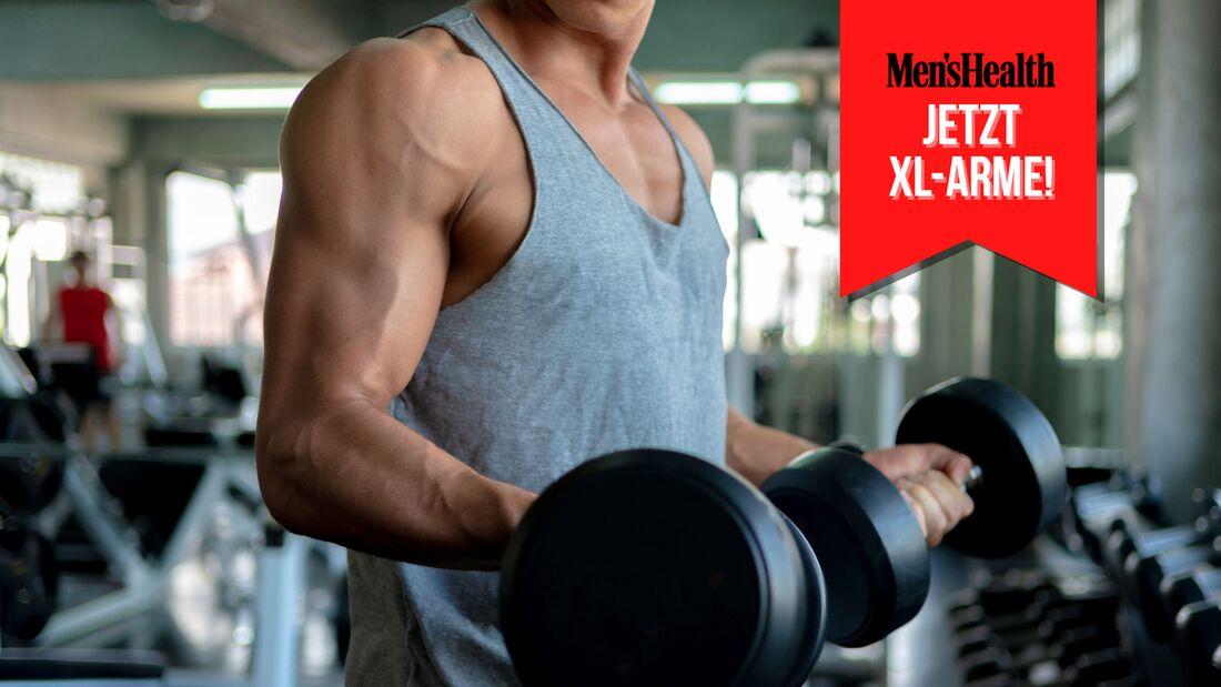 Hier kommen die 15 besten übungen, die Ihre Oberarmmuskulatur ins XL-Format bef?rdern
