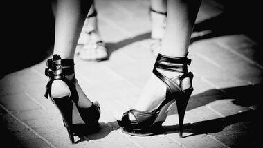 High Heels kommen bei Männer gut an