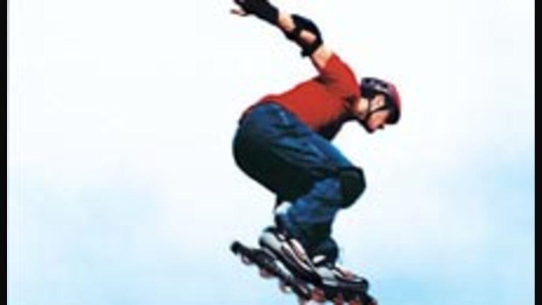 Hoch hinaus: Inline-Skater