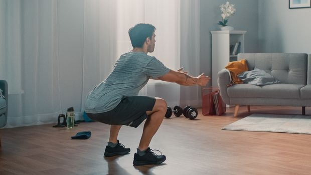 Home-Gym: Halte dich ab sofort zu Hause fit
