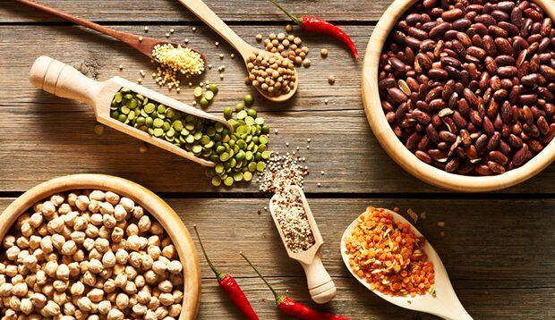 Hülsenfrüchte enthalten viel Eisen