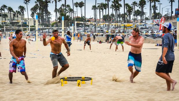 Huntington,Beach,,California,/,Usa,-,July,27,,2013:,Young