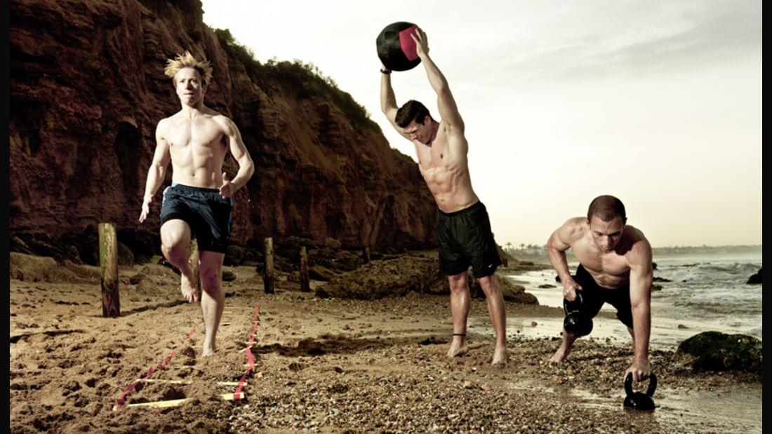 Hurricane-Training heißt der neue US-Fitness-Trend, der Ihr Workout effektiver macht