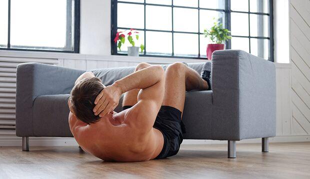 Ihr Zuhause eignet sich meist perfekt fürs Home Workout