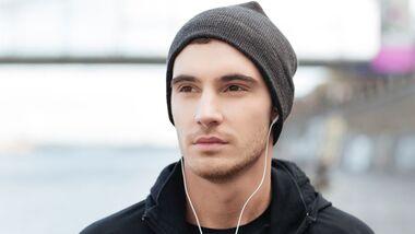 Im Winter gehört draußen immmer eine Mütze über die Ohren