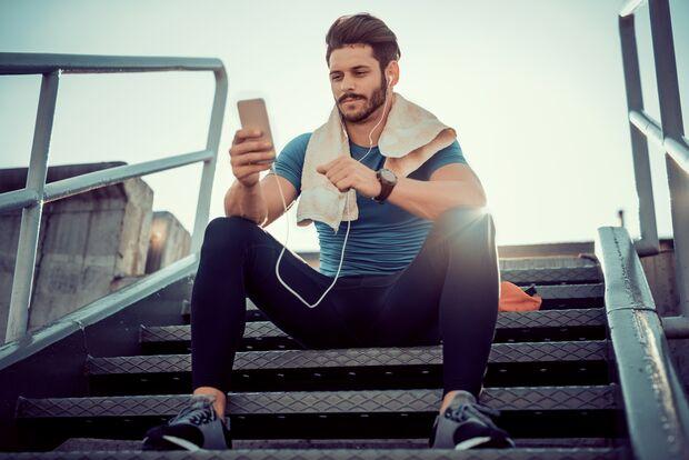 Immer dabei auf Ihrem Weg zum Wunschkörper: unsere Trainings-Apps