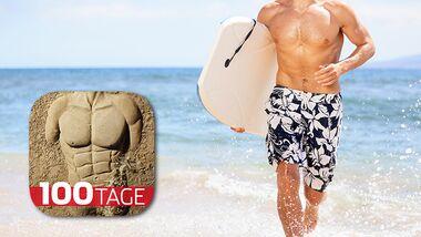In 100 Tagen zur perfekten Strandfigur