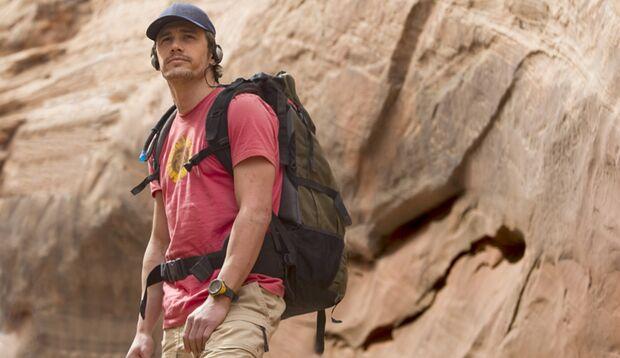 """In Danny Boyles herausragendem Film """"127 Hours"""" steckt ein Kletterer in einer Felsspalte fest"""